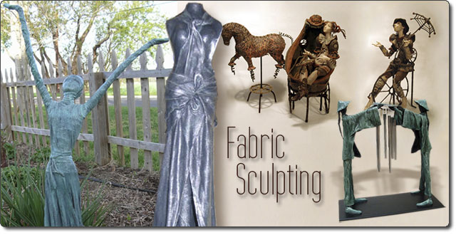 Fabric Sculpting With Paverpol Home Page