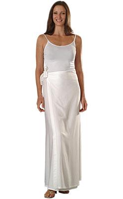 silk wrap skirt instructions