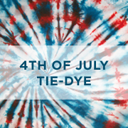 Patriotic Tie-dye Kit & Projects