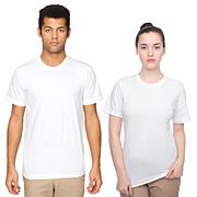 Fine Jersey Short Sleeve T-Shirt (Unisex)