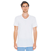 Sheer Jersey Loose Crew Summer T-Shirt (Unisex)