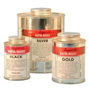 Jacquard American Gutta - Black, Gold, Silver
