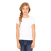 BELLA GIRLS BABY RIB CREW NECK T