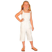 Girl's Capri Jumpsuit