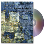 Paper and Metal Leaf Lamination Book & DVD