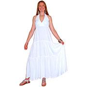 Rayon Halter Dress 3 Tiers