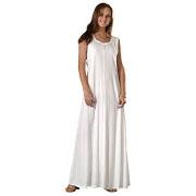 Rayon Long Sleeveless Dress