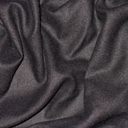 Black Raw Silk 35mm 45""