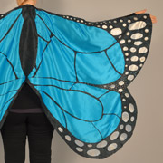 No Sew Butterfly Fairy Wings