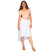 Cotton Calla Lily Skirt
