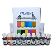 Colorhue Silk Dyes - 10 Color Set