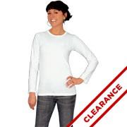 Junior Fine Jersey Long Sleeve Longer Length T-shirt