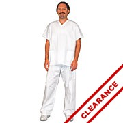 Unisex Scrubs Pants with Poly Thread