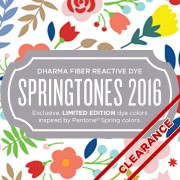 Limited Edition Fiber Reactive SpringTones For 2016