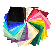 Colored Silk Fabric Sample Packs