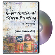 Improvisational Screen Printing DVD