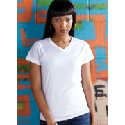 Ladies V-Neck Sublimation Tee