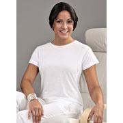 Ladies Polyester T-shirt