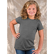 Girls Vintage Jersey Longer Length T-shirt