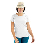 Ladies Fine Jersey Longer Length T-Shirt
