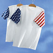 Adult Jersey Stars & Stripes T-shirt