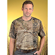 Adult Officially Licensed Realtree® Camouflage Short Sleeve T-shirt
