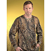 Adult Officially Licensed Realtree® Camouflage Long Sleeve T-shirt