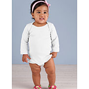 Infant Baby Rib Lap Shoulder Long Sleeve Creeper (#LSCLS)