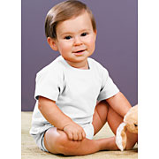 Infant Jersey Short Sleeve Creeper (Infant Bodysuit #IBS)