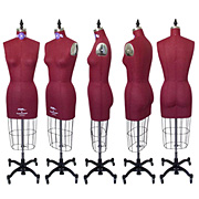 PGM Ladies Dress Form - Maroon #603