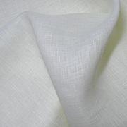 100% Bleached Linen Fabric