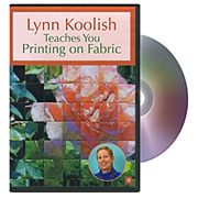 Lynn Koolish Teaches You Printing on Fabric
