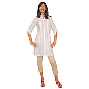 New Delhi Pintuck Tunic
