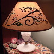Mystic Garden Lamp, an Upcycling Project: An Outlaw Bunny Tutorial