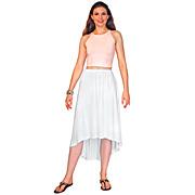 Calla Lily Skirt Rayon Jersey