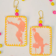 SolarFast Statement Earrings - A Mad Mim Tutorial