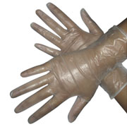 Short Vinyl Gloves