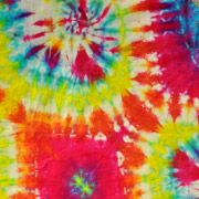 Silk Tie-Dye with Fiber Reactive Dyes