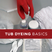 The Tub (Washing Machine, Vat, Bucket) Dye Method