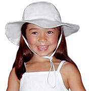Child's Wide Brim Sun Hat