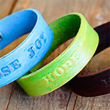 Hand Stamped Leather Bracelets - Lil Blue Boo Tutorial