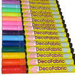 DecoFabric Metallic and Opaque Fabric Markers