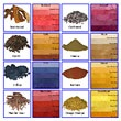 Natural Dyes (from plants and insects)