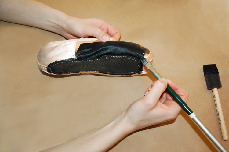 How To Dye Leather Ballet Shoes Black