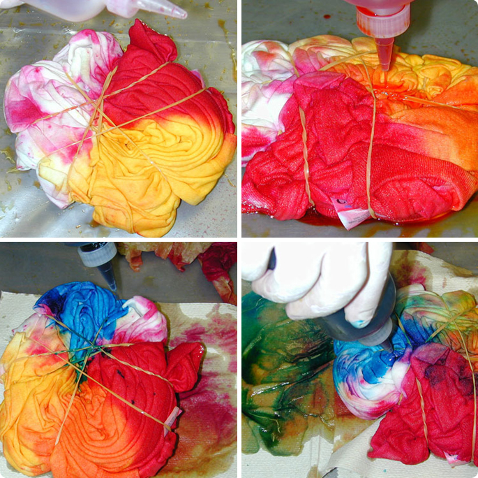 How To Tie Dye A Shirt With A Classic Spiral Pattern