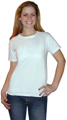 95988c529b6a Hanes Women's Low Crew Neck T-shirt
