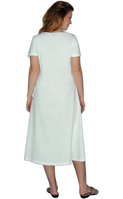 Medium Tie Dye Sleeveless Mid-Calf Play Dress