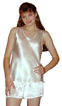 Camisole Top Pure Silk Tank Top Singlet Top Camisole dyed with Australian plants Size S