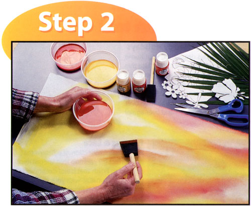Sun Painting With Setacolor Instructions