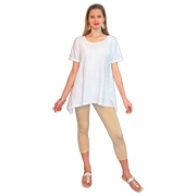 Asymmetric Tunic - Short Sleeve